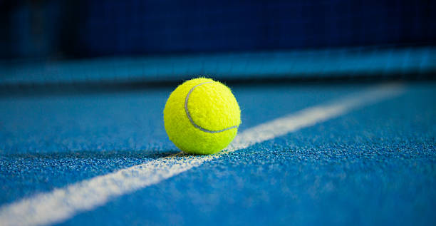 tennis ball - tennis stock pictures, royalty-free photos & images