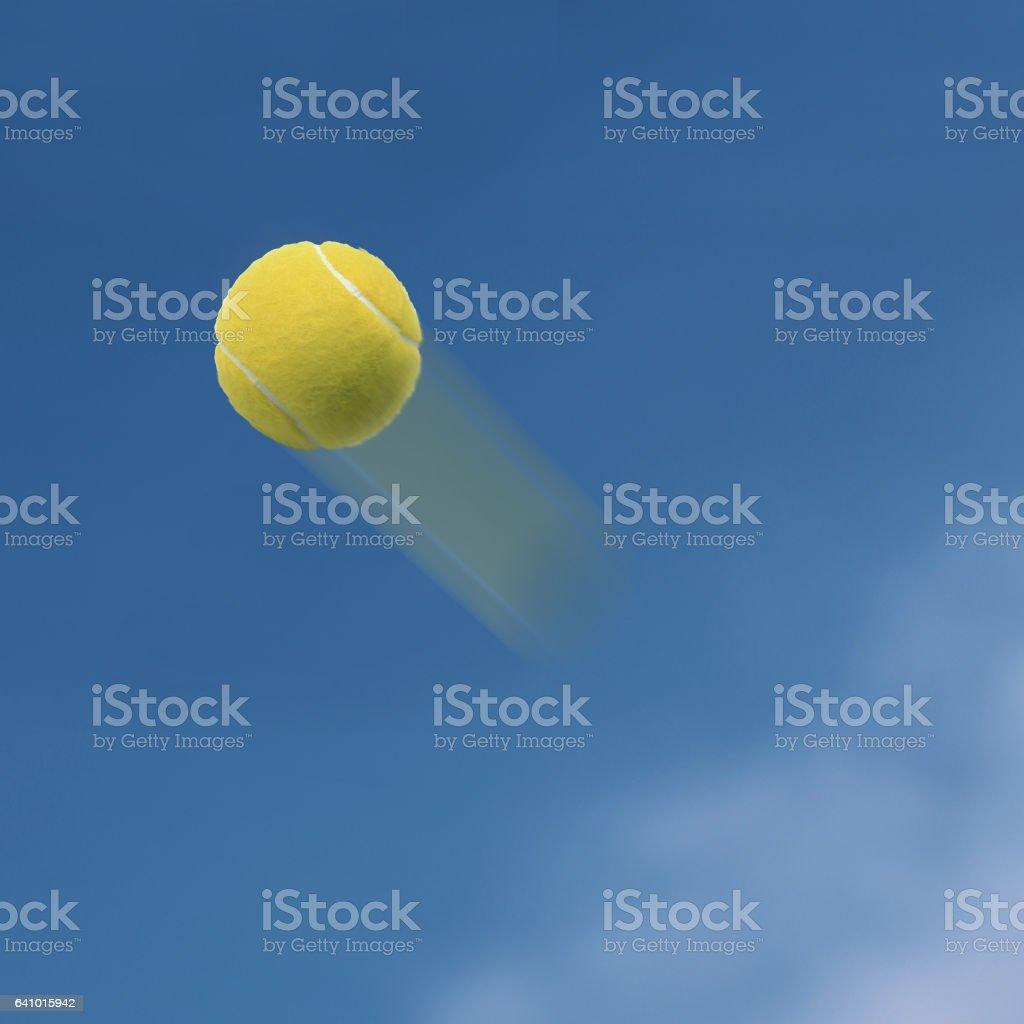 Bola de tenis  - foto de stock
