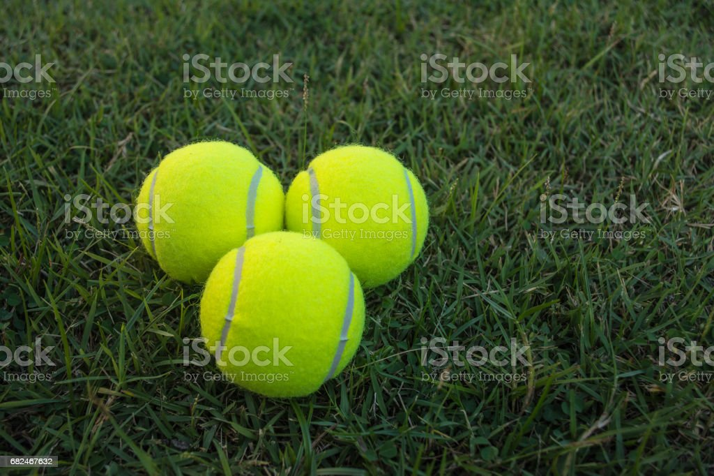 Tennis ball royalty-free stock photo