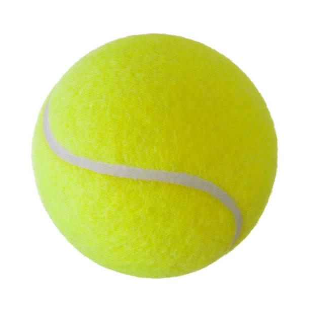 tennis ball - filzkugeln stock-fotos und bilder