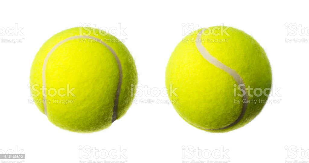 Balle de tennis, studio shot - Photo