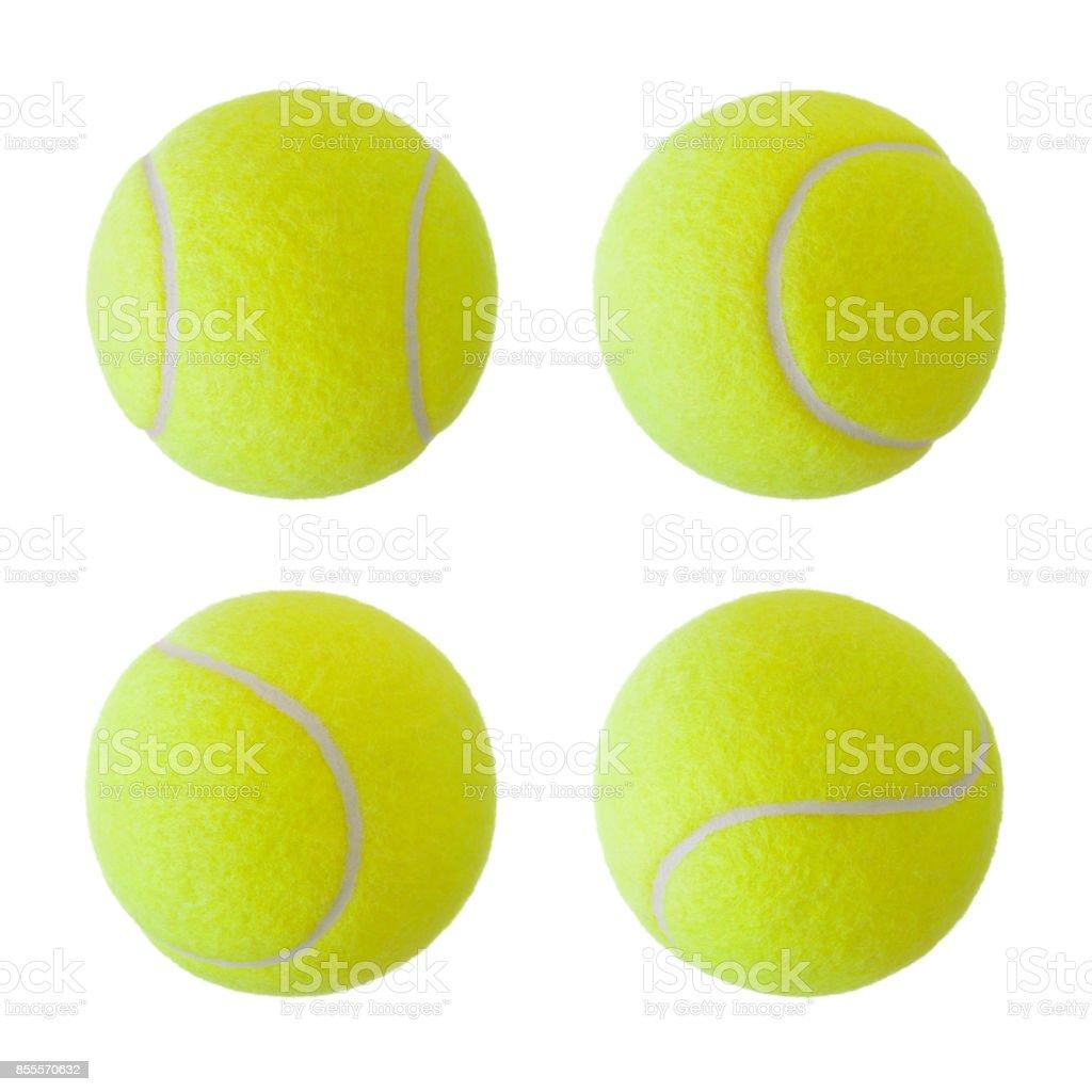 Colección de bolas de tenis - foto de stock