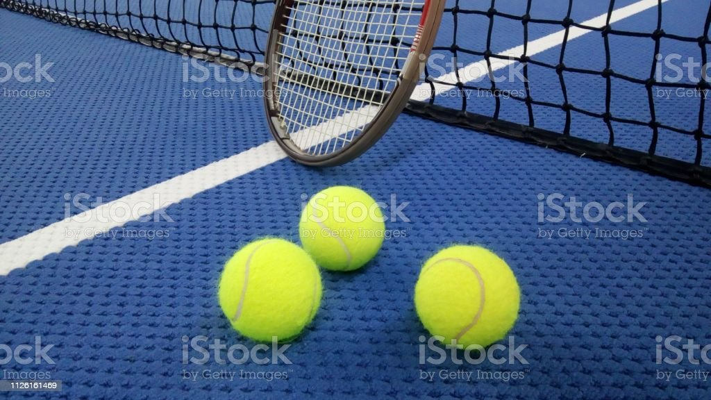 tennis sport hobby/tournament in the winter season