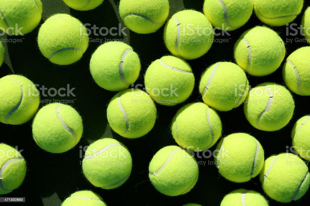 Tennis Balls stock photo