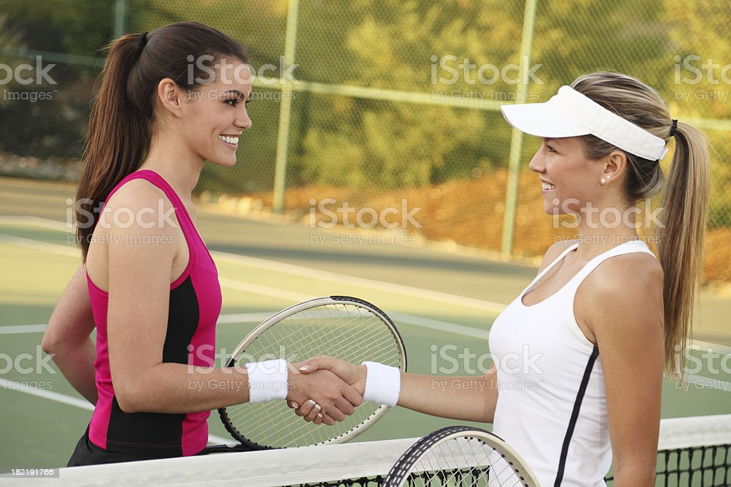 Tennis Congratulations royalty-free stock photo