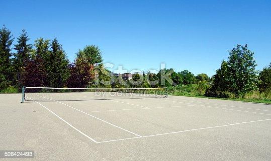 istock Tennis Court 526424493