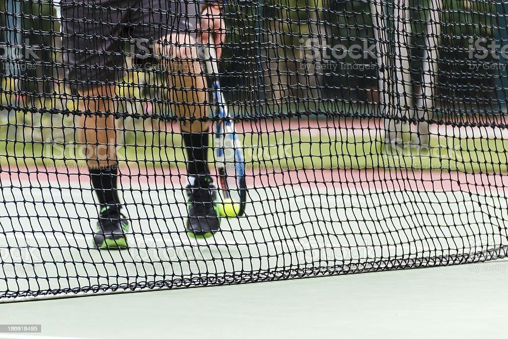 Tennis court6 royalty-free stock photo