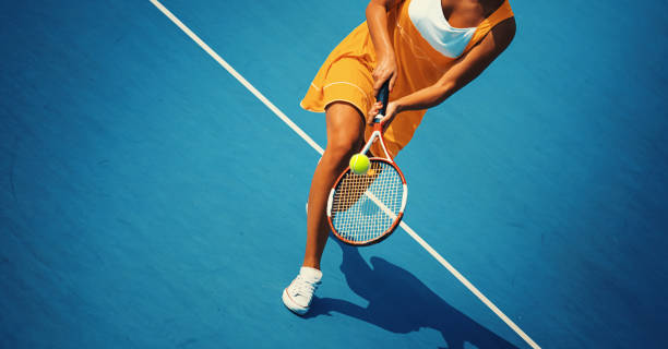 tennis game. - tennis stock photos and pictures