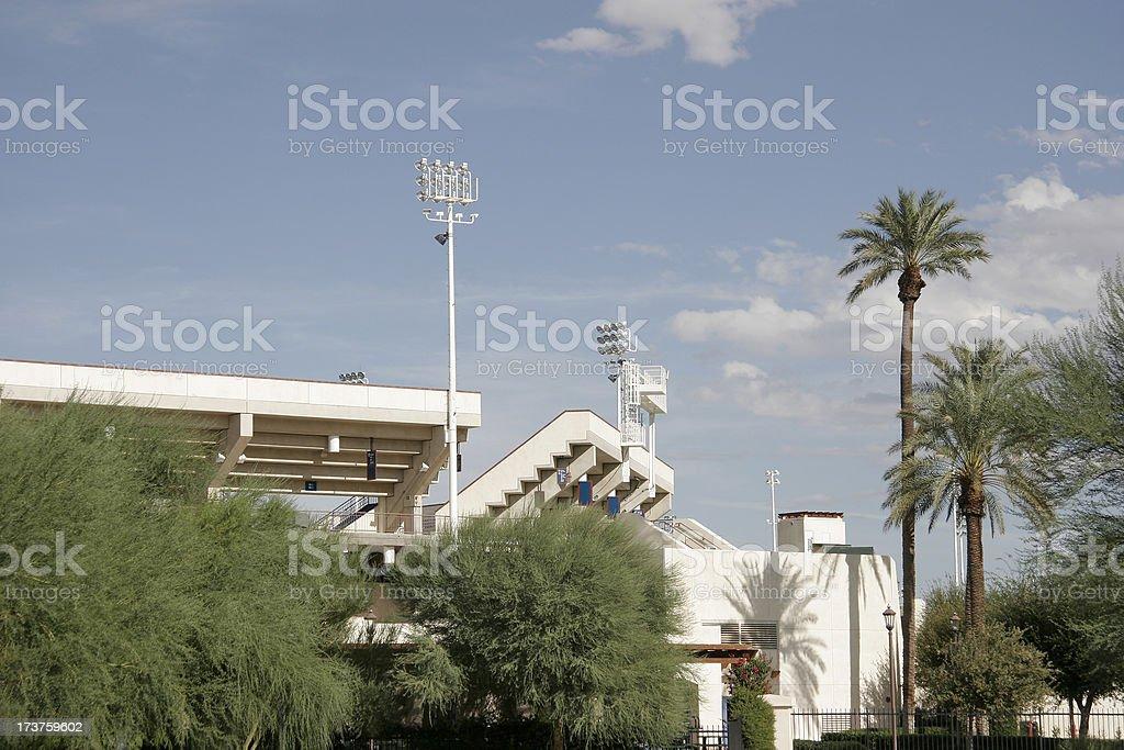 Tennis Gardens Indian Wells California stock photo