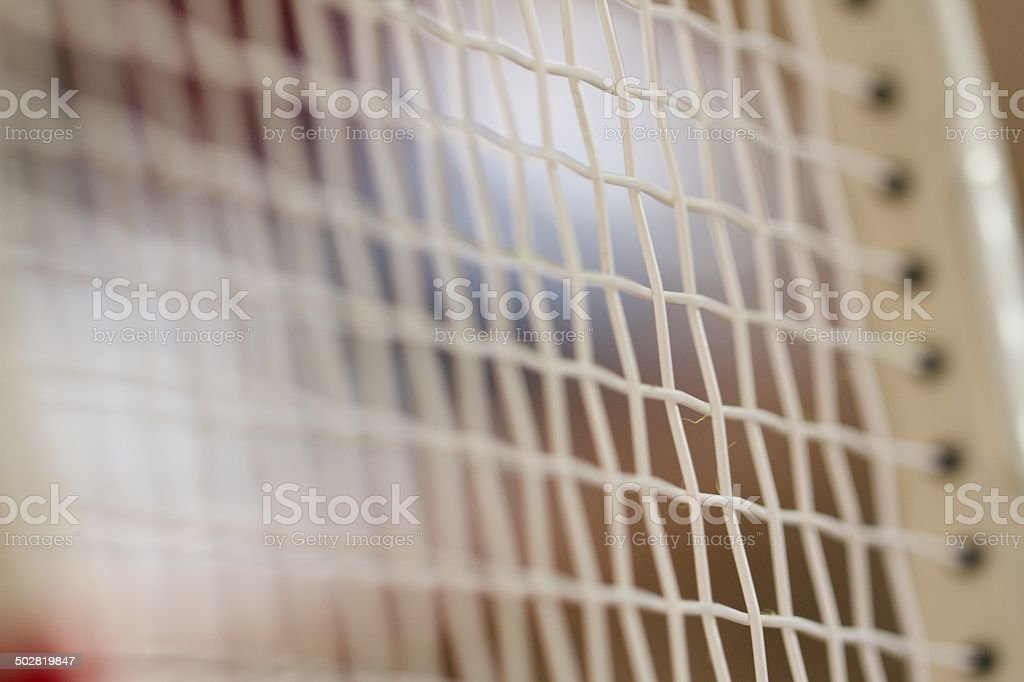 Tennis grip stock photo