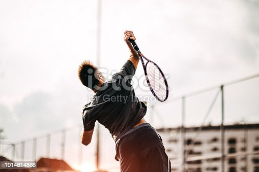 Tennis is my favorite sport