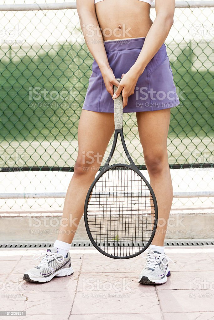 Tennis Legs royalty-free stock photo