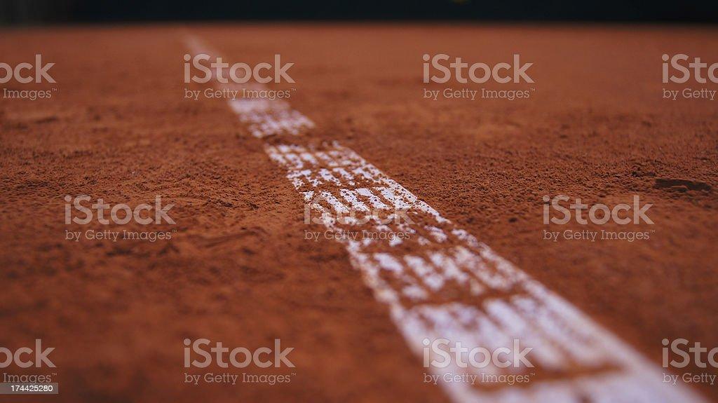 tennis line royalty-free stock photo