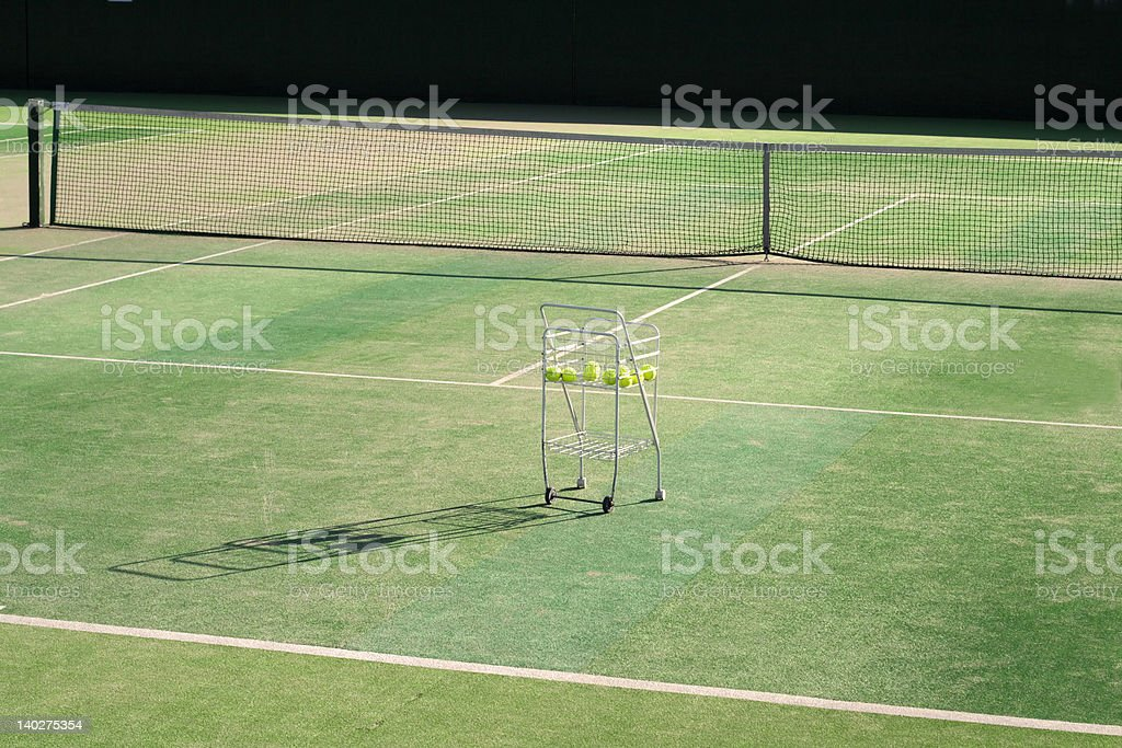 Tennis moments 2.... royalty-free stock photo