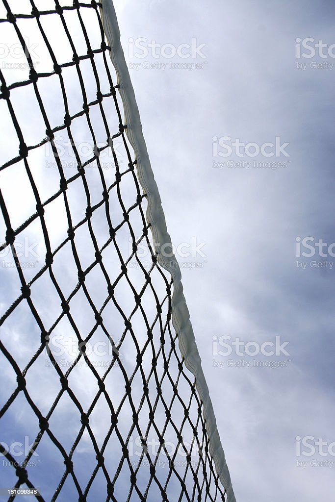 tennis net 02 royalty-free stock photo