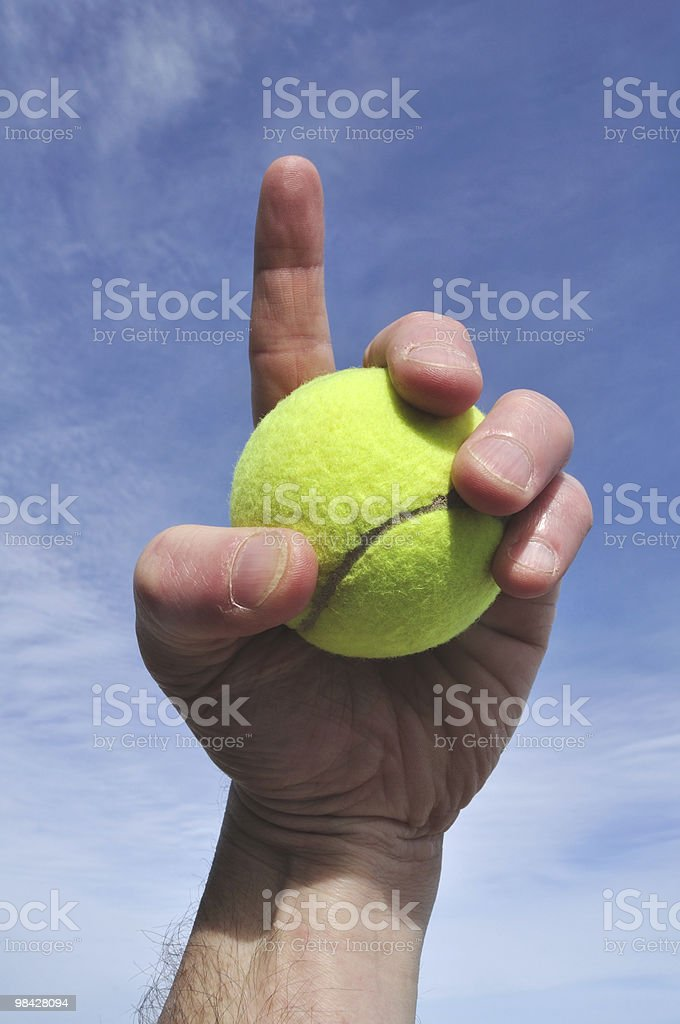 Tennis - Number One royalty-free stock photo