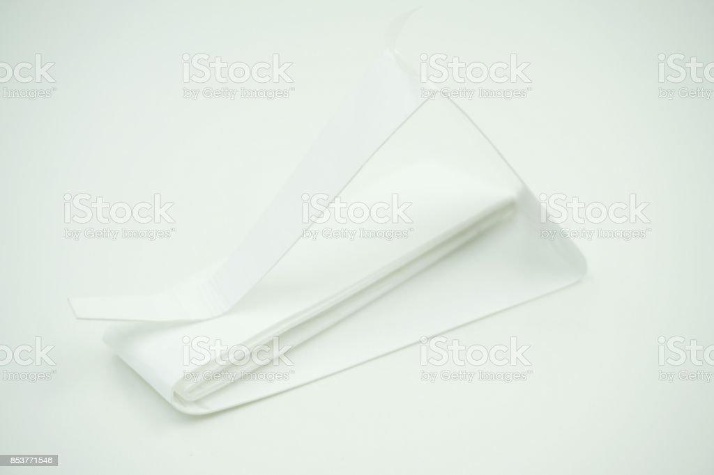 Tennis or badminton racket handle grip tape stock photo