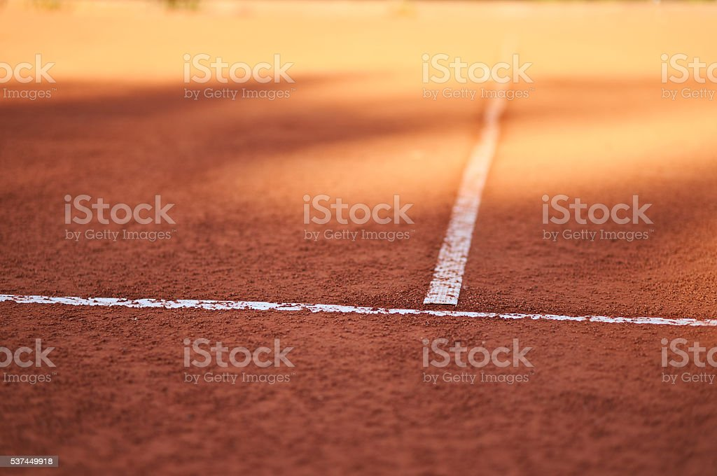 Tennis out line stock photo