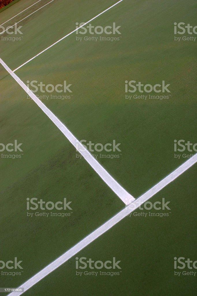 Tennis Pattern royalty-free stock photo
