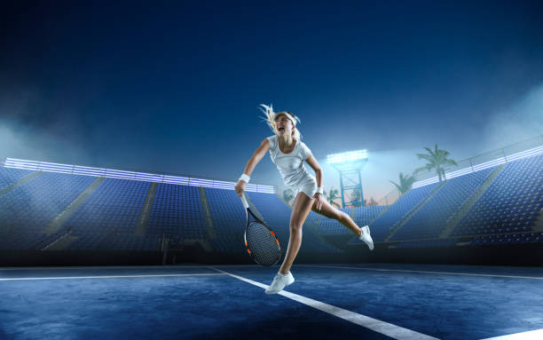 tennis - racket sport stock pictures, royalty-free photos & images