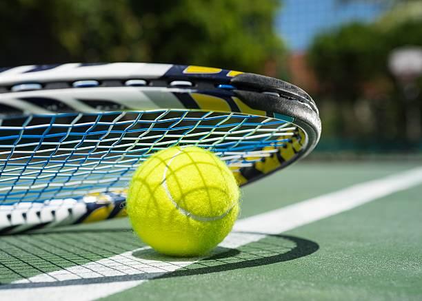 canchas de tenis - tenis fotografías e imágenes de stock