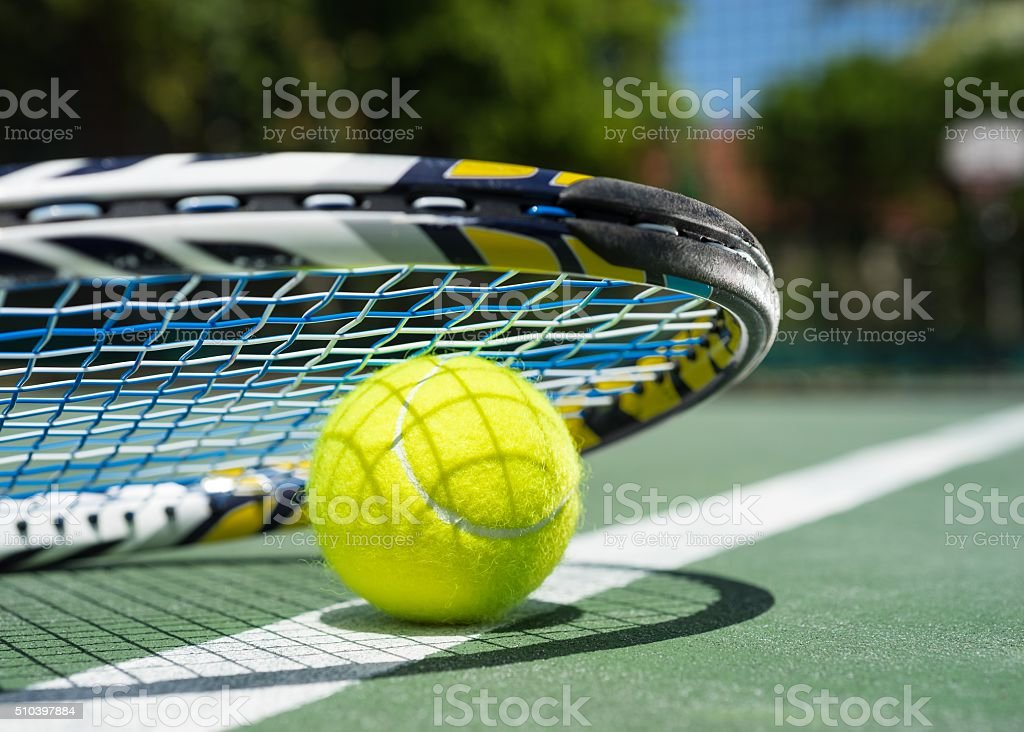 Courts de tennis - Photo