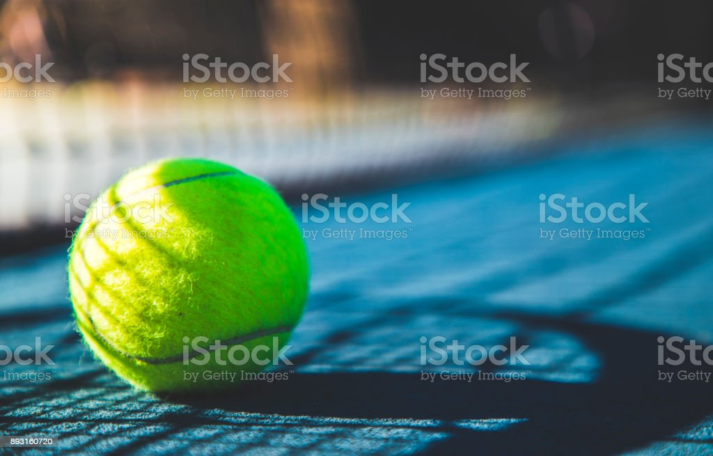 Tennis stock photo