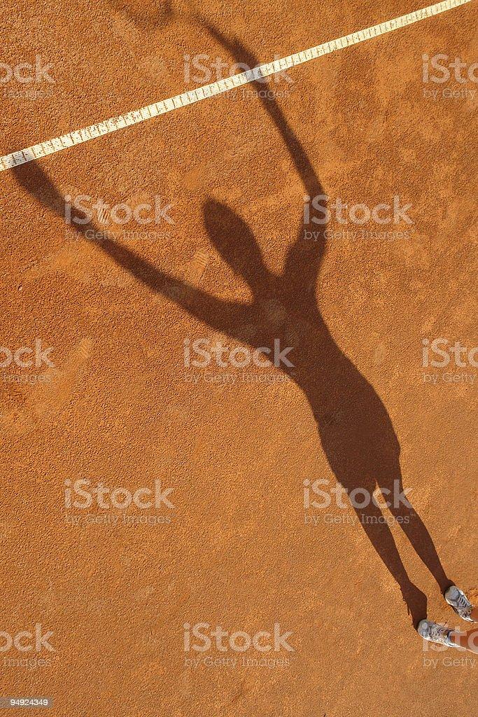 Tennis royalty-free stock photo