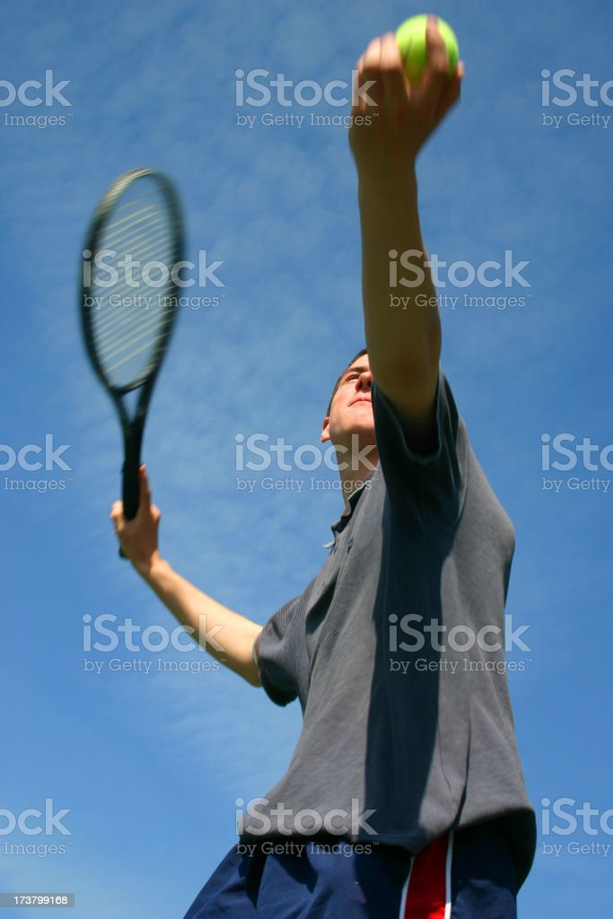 Tennis Player 2 royalty-free stock photo