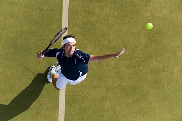 jugador de tenis - tenis fotografías e imágenes de stock