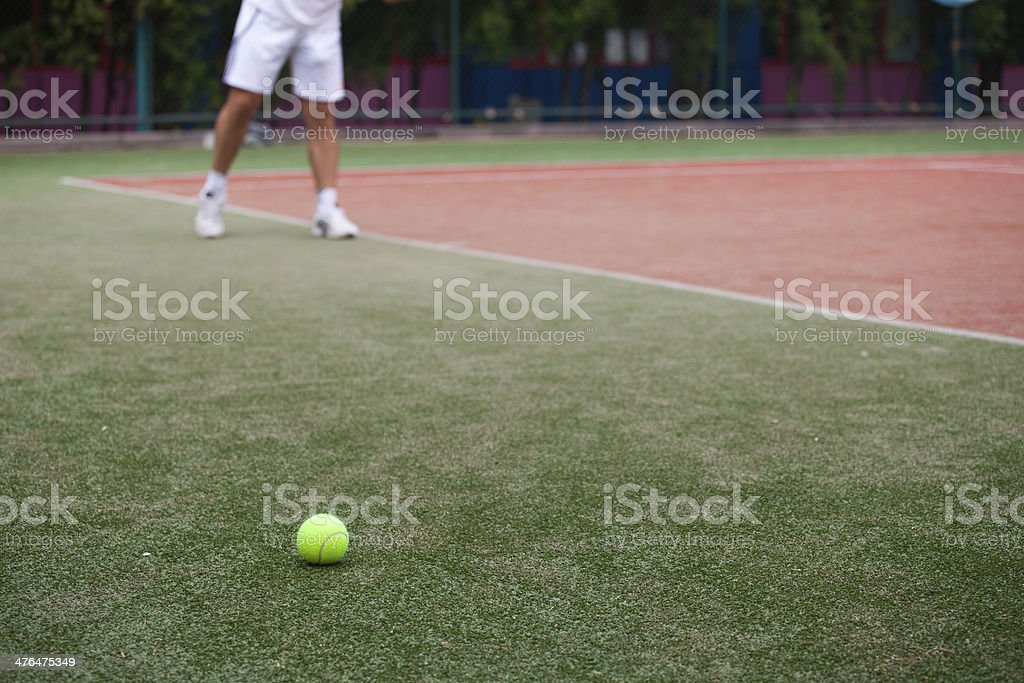 Tennis Player royalty-free stock photo