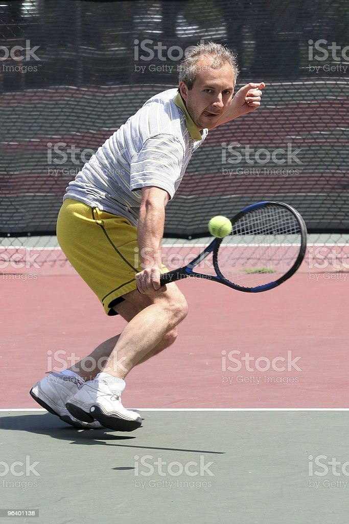 Tennis player - Royalty-free Accessibility Stock Photo