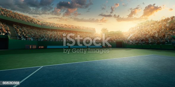 1153628111istockphoto Tennis: Playing court 668080568