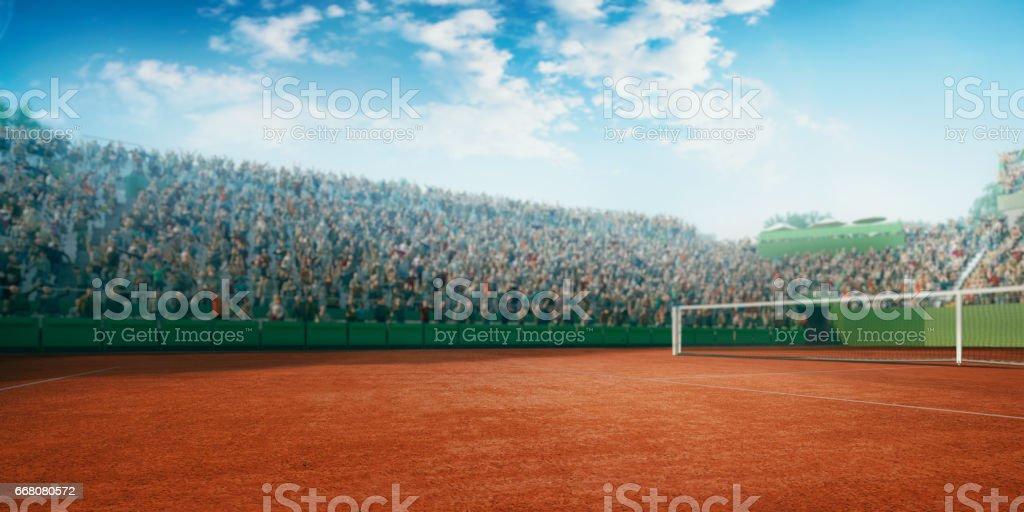 Tennis: Spielen Gericht – Foto