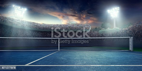 1153628111istockphoto Tennis: Playing court 671277978