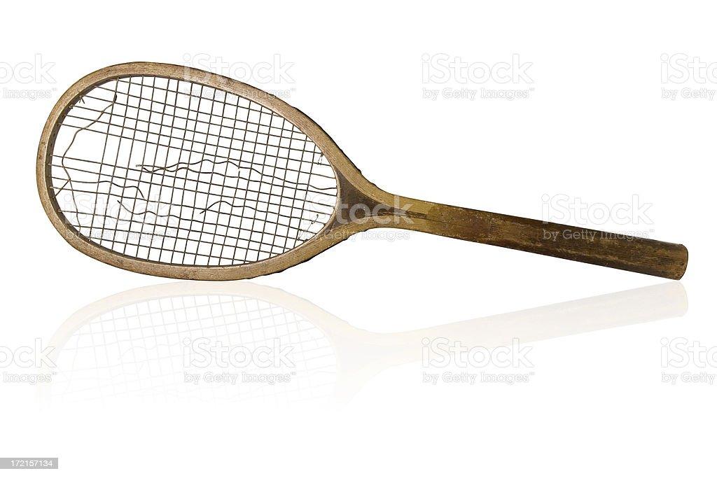 Tennis Racket II stock photo