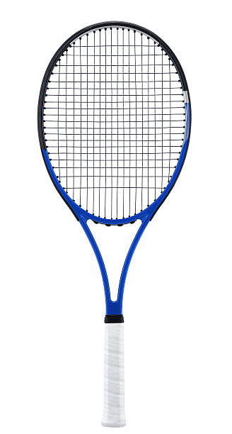 Raquette de Tennis, isolée sur blanc - Photo