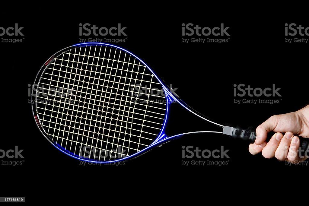 Tennis Racket Isolated royalty-free stock photo