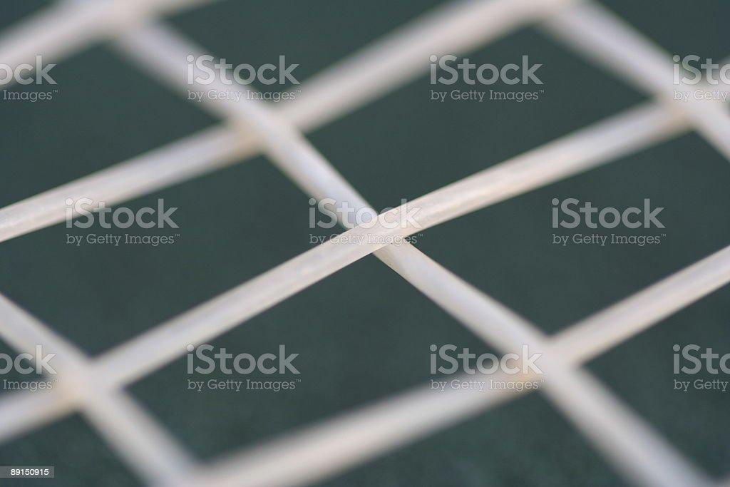 Tennis Racket Strings stock photo