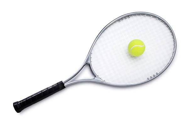 Raquette de Tennis avec ballon - Photo
