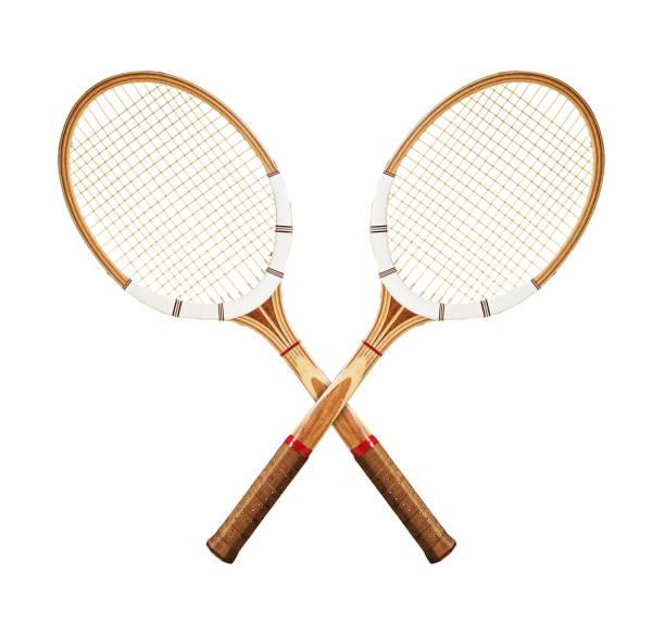 Raquettes de tennis blanc - Photo