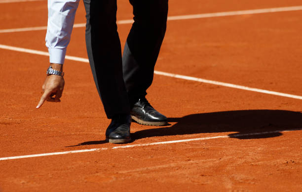 tennis referee - judge sports official stock photos and pictures
