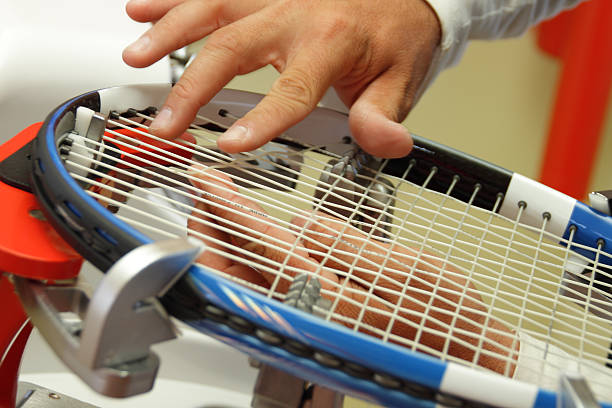 restring de tennis - Photo