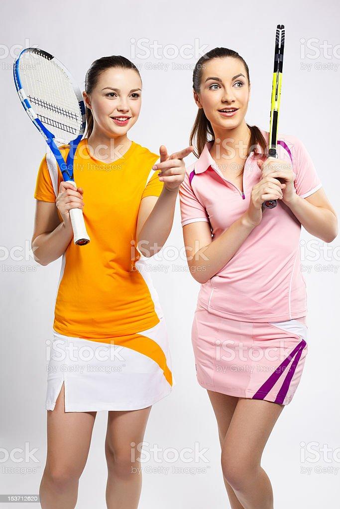 tennis rivals stock photo