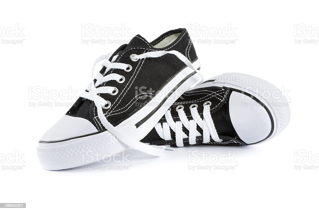 tennis shoes royalty-free stock photo