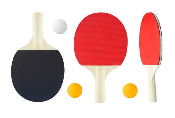 tennis table rackets - rakietka do tenisa stołowego zdjęcia i obrazy z banku zdjęć