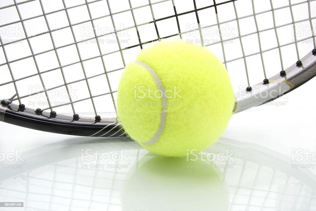 Tempo di tennis foto stock royalty-free