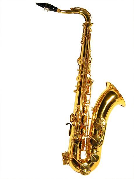 tenor sax isoliert - herpens stock-fotos und bilder