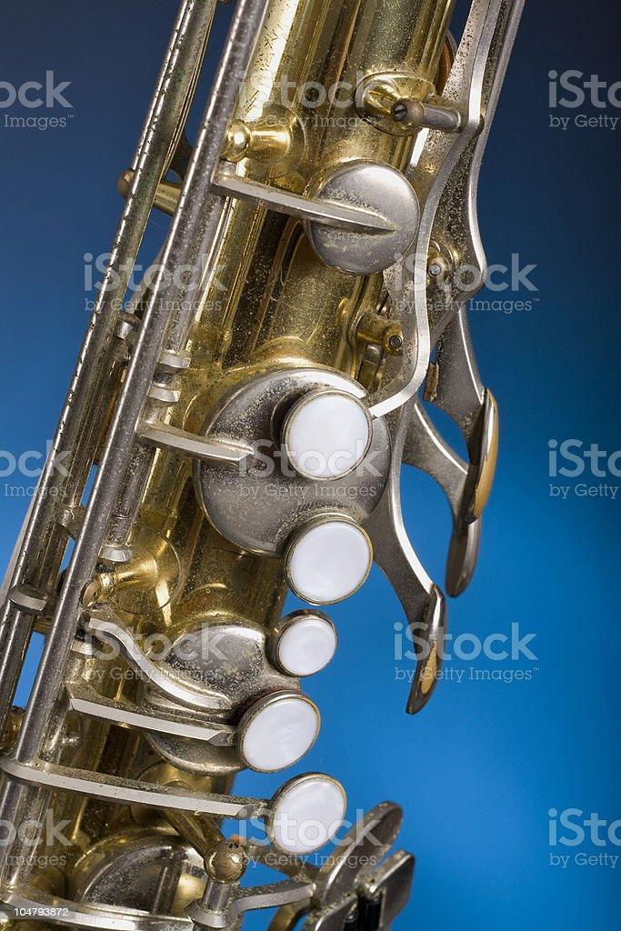 Tenor Saxophone royalty-free stock photo