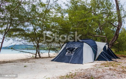 istock A tent at the Beach on Koh Rong Island 1196293381